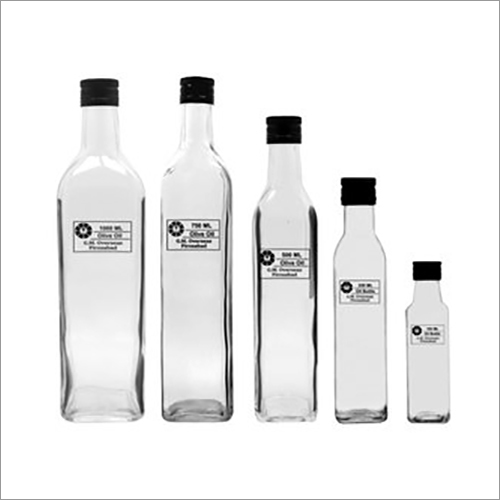 Olive Oil Empty Glass Bottle