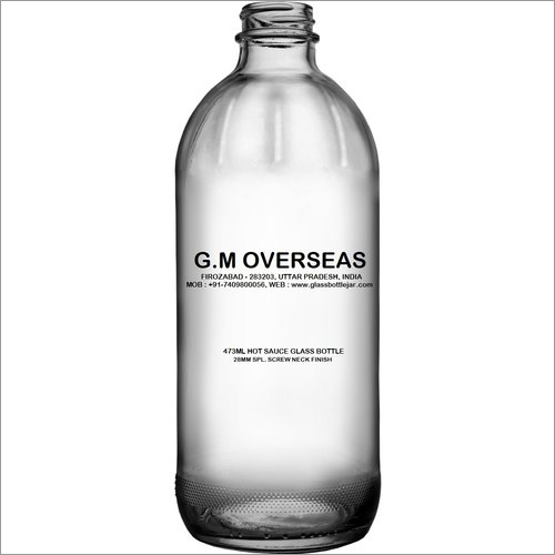 473ml Hot Sauce Glass Bottle