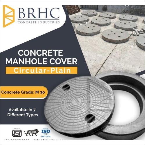 Heavy Duty Manhole Cover With Frame