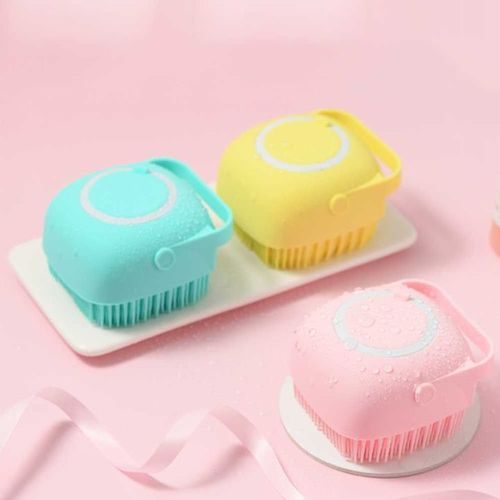 Soft Silicone Massage Bath Brush