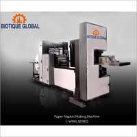 L-Wing Double Decker 300 Automatic Double Decker Paper Napkin Making Machine