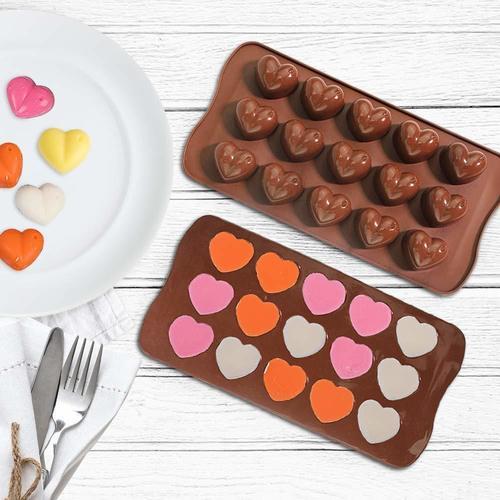 HEART SHAPE DESIGN CHOCOLATE MOLD