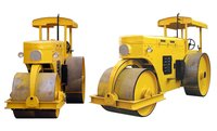 Static Double Drum Road Roller