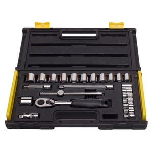 STANLEY 3/8'' 24PC Sockets And Ratchets Set