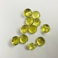 Lemon Quartz Faceted
