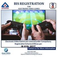 BIS Registration for video Games
