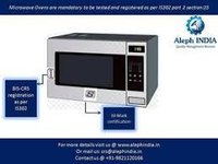 BIS Registration for Microwave oven