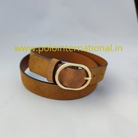 Sued Leather Belt For Women