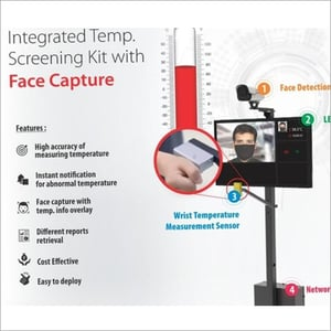 Temperature Reading With Face Capture Camera
