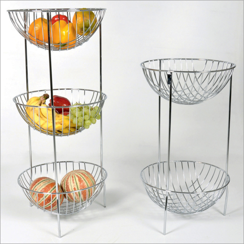 Fruit Basket 3 Shelf-2 Shelf