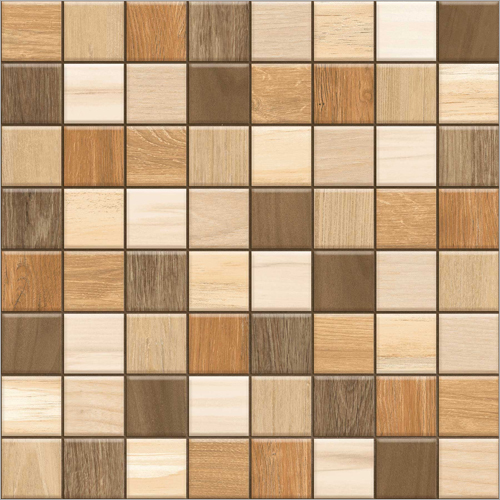 300X300 Foursquare Brown Parking-Outdoor Tiles