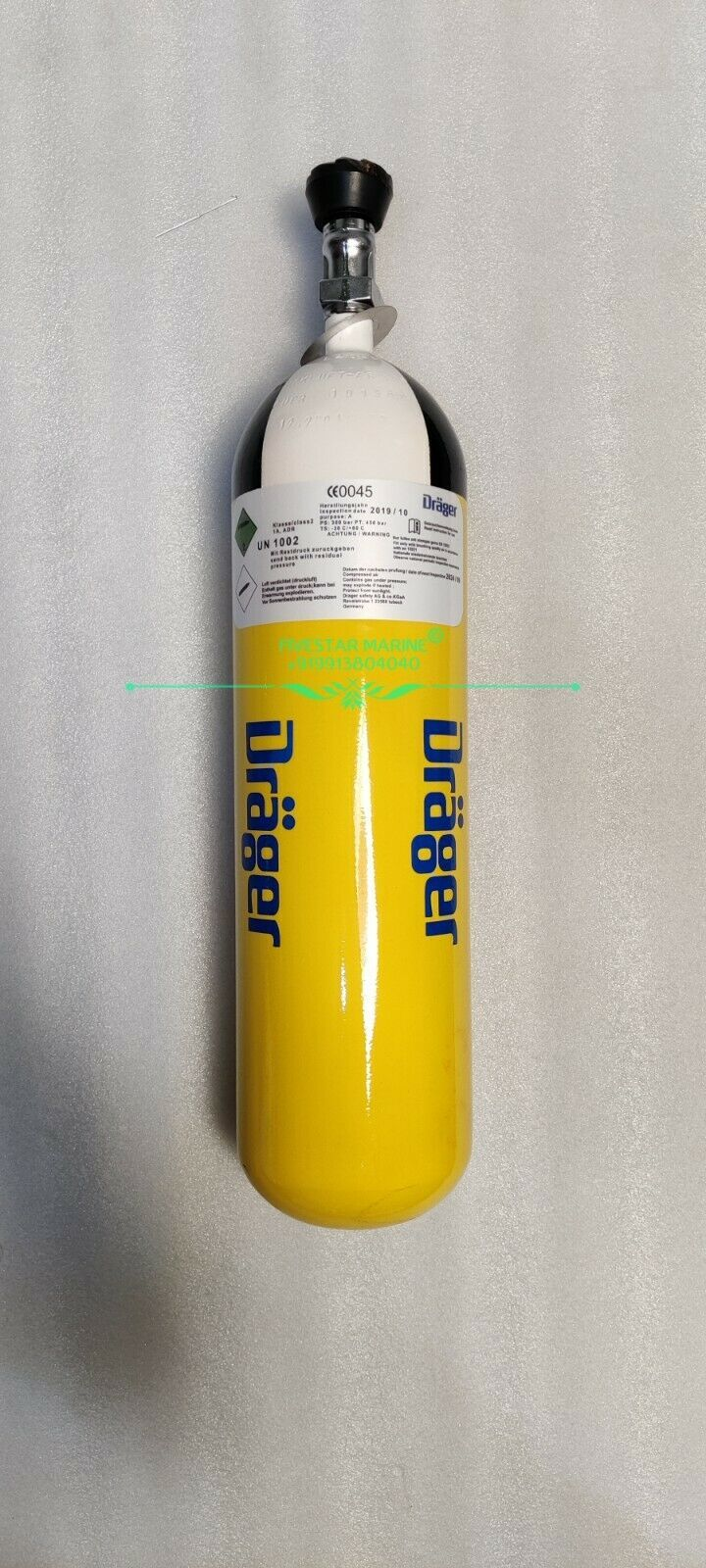 Drager Breathing Air Cylinder