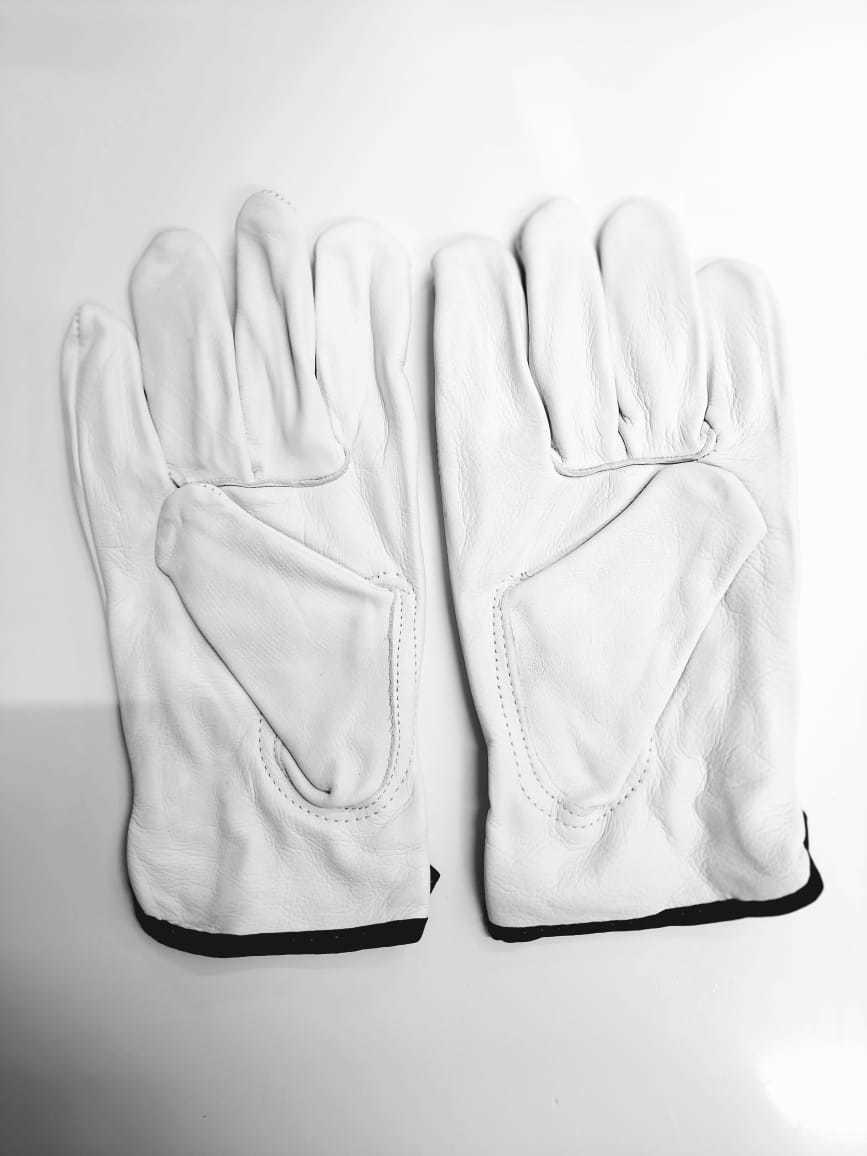 LEATHER PLAIN HAND GLOVES