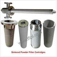 Sintered SS316L Powder Filter Cartridges