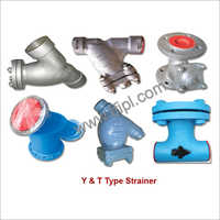 Y & T Type Strainer