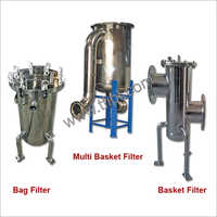 Single and Multi Bag - Basket Filter Systems
