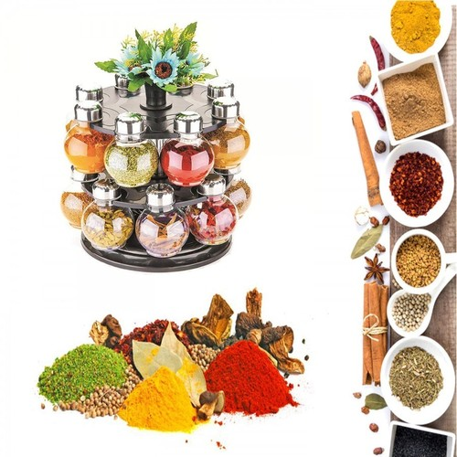 360 DOUBLE LAYER SPICE RACK