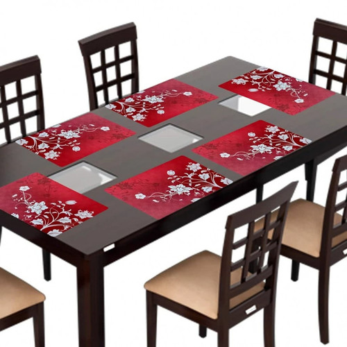 TABLE PLACEMENT FOR DINNING TABLE SET OF 6