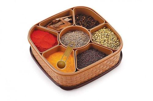 MASALA RANGOLI BOX DABBA FOR KEEPING SPICES