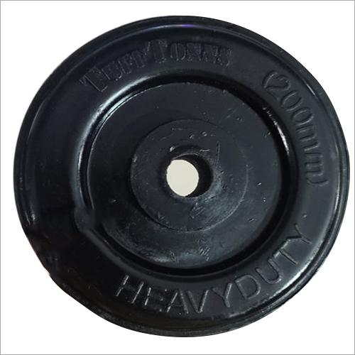 Heavy Duty 200 Mm Rubber Wheels
