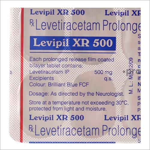 500 Levetiracetam Prolonge Tablet