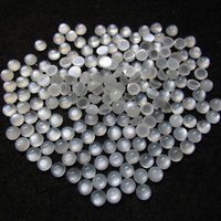 3mm White Moonstone Round Cabochon Loose Gemstones