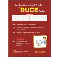 Herbal Tablet For Low Blood Pressure - Duce Tablet