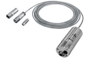 A250 FO PL Digital IR Fiber Optic Pyrometer with mono fiber optic cable with Bluetooth