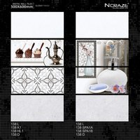 300x600mm Glossy Finish Wall Tiles For Kitchen