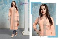 Radhika Vol 1 Designer Rayon Printed Summer Collection Kurtis