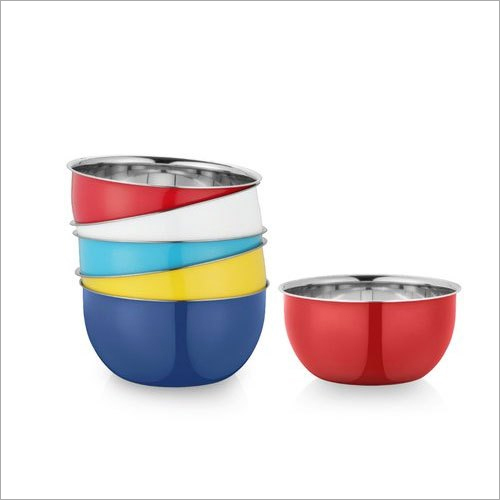 28 cm Stainless Steel Serving Bowl Set