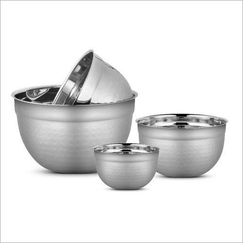 25 cm Stainless Steel German Bowl Set