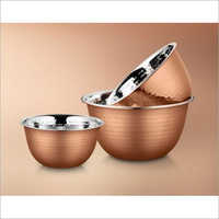 24 cm Stainless Steel Deep Mixing Bowl Set