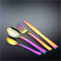 Stainless Steel Loreto Rainbow Cutlery