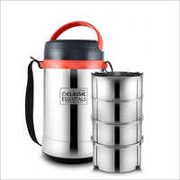 Stainless Steel 4 Container Lunch Box