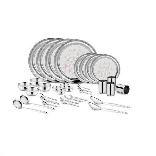 36 Piece Stainless Steel Dinner Set