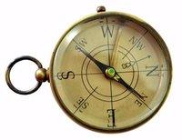 Antique Brass Nautical Compass