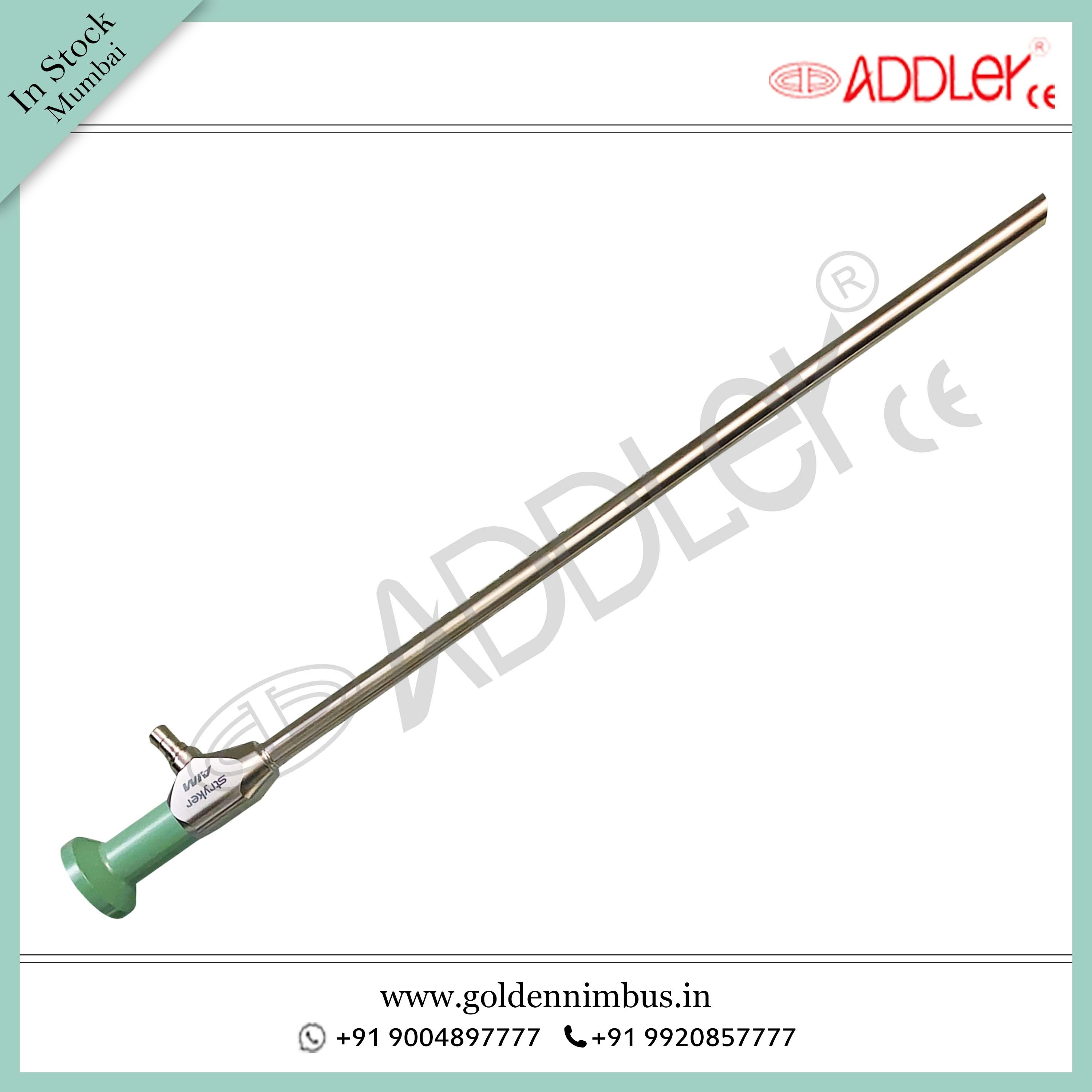 Stryker Aim Laparoscope 10mm 30 Degree