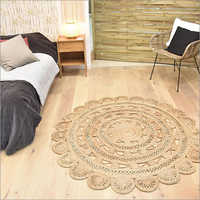 Fancy Round Braided Rug