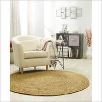 Round Braided Floor Rug
