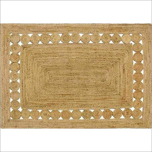Fancy Jute Braided Floor Rug