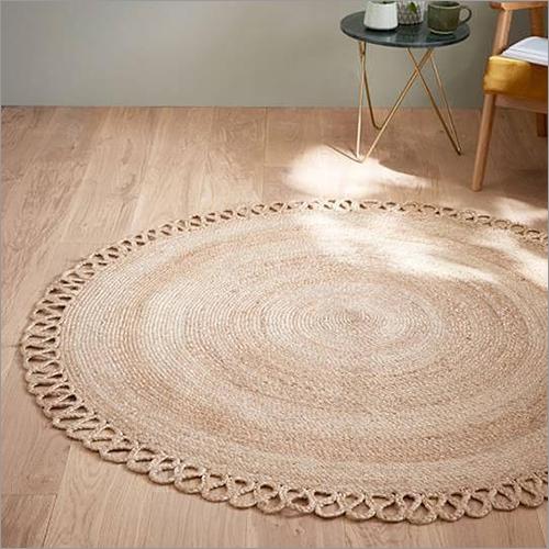 Natural Braided Floor Rug