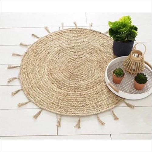 Handmade Table Braided Rug