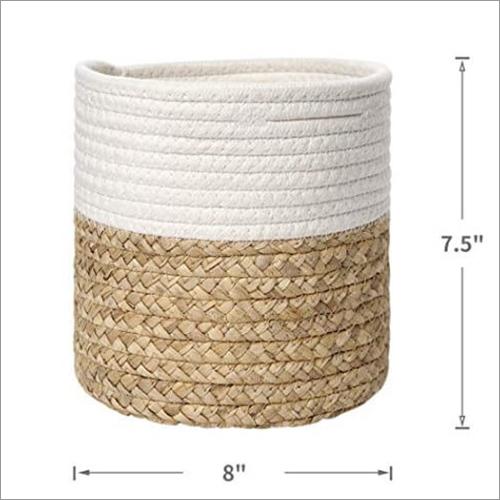 Jute Round Basket
