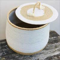 Cloth Cotton Basket