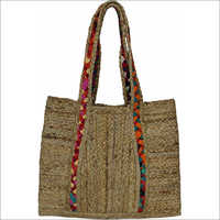 Ladies Shoulder Jute Bag