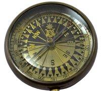 Sir Wm Gell Antique Flat Compass