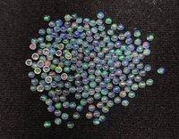 1.5mm Ethiopian Opal Round Cabochon Loose Gemstones