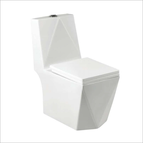 One Piece Commode Seat