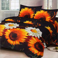 Sunflower Printed Bed Sheet